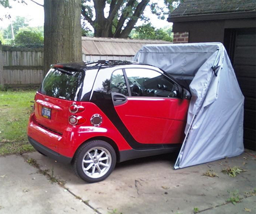 Smart Car car cover, trike size