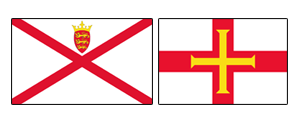 Channel Islands Flag