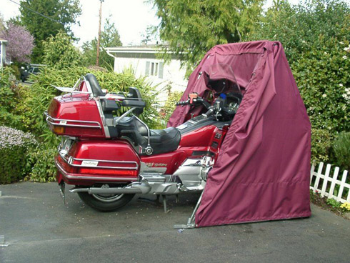 Honda Gold Wing motorcycle cover