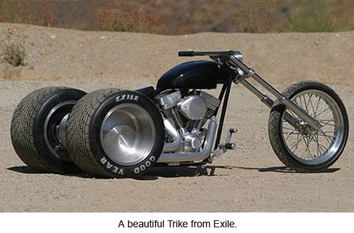 A beautiful Trike from Exile.