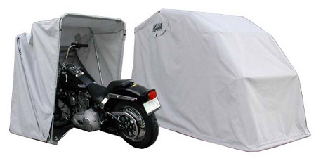 Harley Davison Enclosed Motorcycle Cover